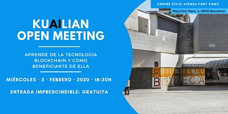 BLOCKCHAIN OPEN MEETING BARCELONA entradas