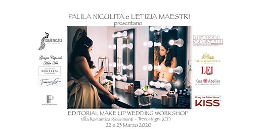 EDITORIAL MAKE UP WEDDING  WORKSHOP - MARZO  2020