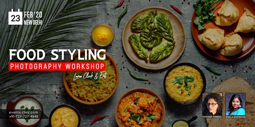 FOOD STYLING & PHOTOGRAPHY WORKSHOP