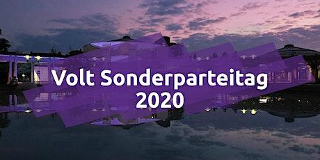 Volt Deutschland Sonderparteitag Frankenthal Tickets