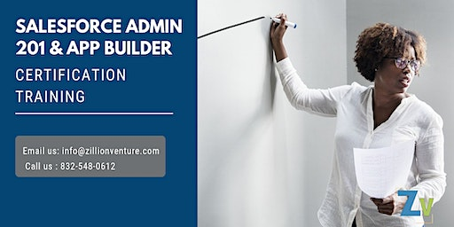 Salesforce Admin201 and AppBuilder Certificat Training in Prince Rupert, BC