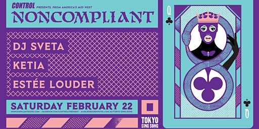 Control Mardi Gras Edition with Noncompliant (USA)and Ketia (PT)