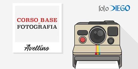 Corso Base Di Fotografia – Avellino biglietti