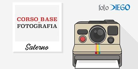Corso Base Di Fotografia – Salerno biglietti