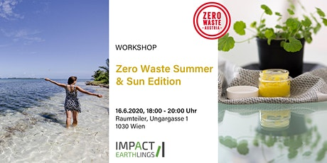 Zero Waste Summer & Sun Edition Workshop Tickets