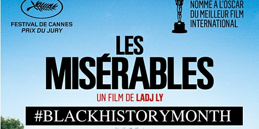 Black History Month Movie night 'LES MISERABLES' w/ Eng. subs