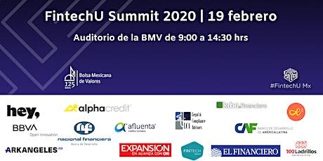 FintechU Summit MX 2020 boletos