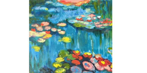 Monet Water Lilies - Transcontinental Hotel