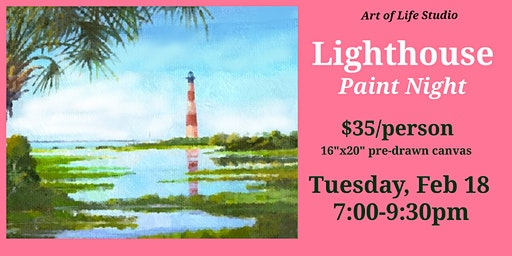 Paint Night: Lighthouse