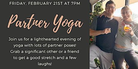 Partner Yoga tickets