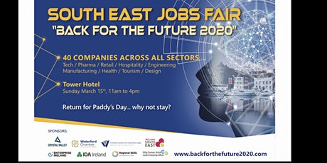 JOBS FAIR WATERFORD - Back For The Future 2020 tickets