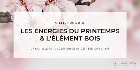 Atelier de Do-In - Les Énergie du Printemps et de l'Élément Bois billets