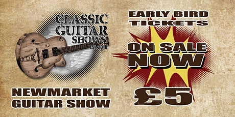 Newmarket Guitar Show tickets