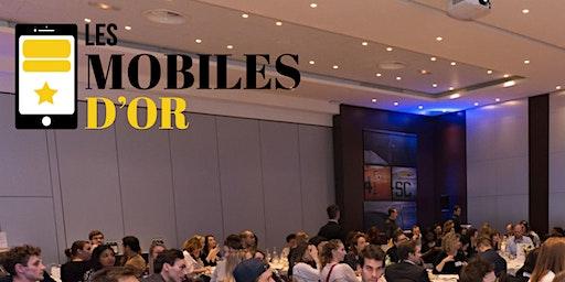 Les Mobiles d'OR 2020 - Les Cas d'OR du marketing, de la publicité et du commerce sur les mobiles.