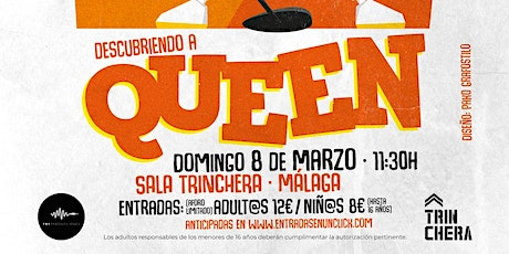 "FAMILY ROCK SUNDAY'S ""Descubriendo a QUEEN"" entradas"