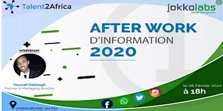 Afterwork d'information 2020 billets