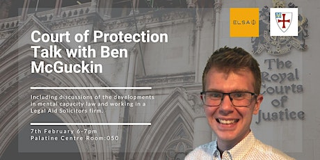 Court of Protection Talk tickets