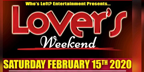 Who's Left?  Entertainment presents Lover's Weekend Comedy Show tickets