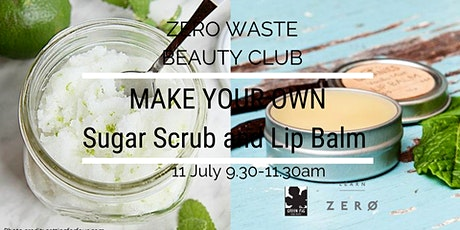 Make your own Sugar Scrub and Lip Balm tickets