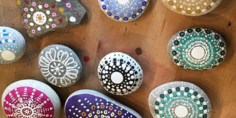 Mandala Stone painting tickets