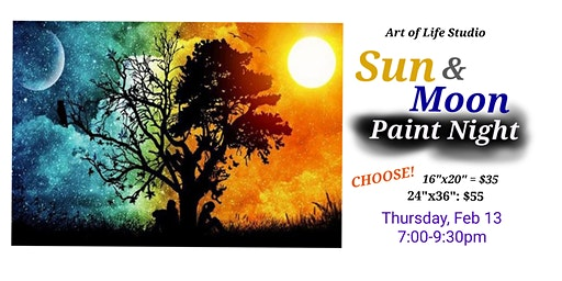 Paint Night: Sun and Moon