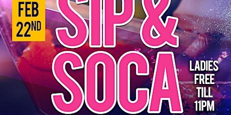 Sip & Soca tickets