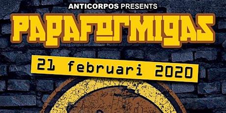 Papaformigas @ De Cactus 21-2-2020 (Ska, Gipsy, Balkan, Klezmer, Feestje) tickets