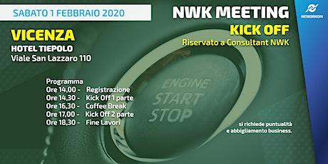 KICK OFF Neworkom Area NordEst VI- Evento di Formazione per Consultant NWK biglietti