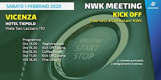 KICK OFF Neworkom Area NordEst VI- Evento di Formazione per Consultant NWK