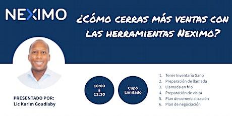 El modelo inmobiliario Neximo para asesores independientes - CDMX boletos