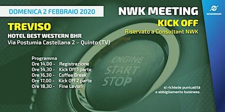 KICK OFF Neworkom Area NordEst TV- Evento di Formazione per Consultant NWK biglietti