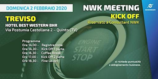 KICK OFF Neworkom Area NordEst TV- Evento di Formazione per Consultant NWK