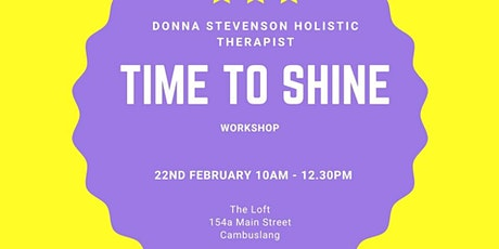 Time to Shine Re-Run tickets