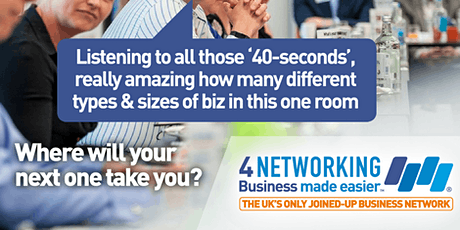 4N Business Networking Lunch Glasgow City Centre 21st February 2020 tickets