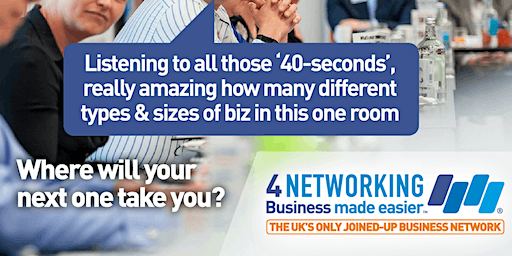4N Business Networking Lunch Glasgow City Centre 21st February 2020
