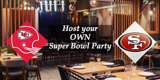 Private Super Bowl Party Room