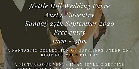 Nettle Hill Autumn Wedding Fayre tickets