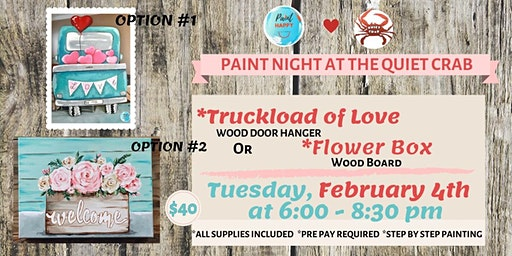 Truckload of Love Paint Night