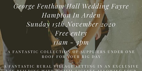 George Fentham Hall Autumn Wedding Fayre tickets