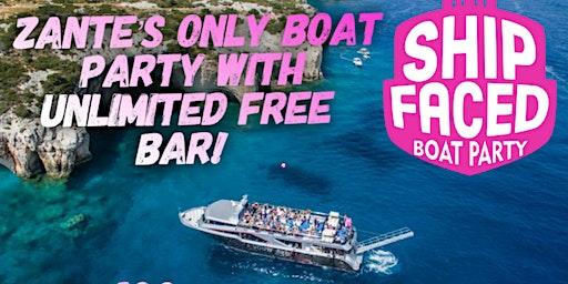 Zante Boat Party - Shipfaced