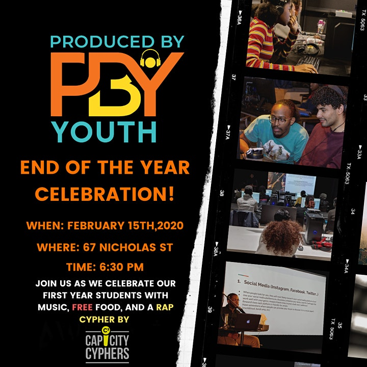 PRODUCED BY YOUTH YEAR-END CELEBRATION image
