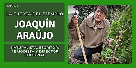La Fuerza del Ejemplo: Joaquín Araújo entradas
