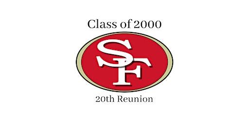 SFHS c/o 2000 20th class reunion