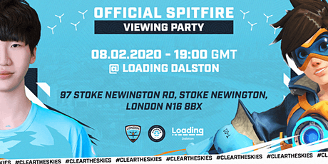 Hangar9 Official London Spitfire Viewing party - LDN Vs NYXL tickets