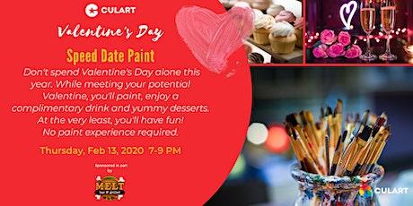 Valentine's Day Speed Date Paint tickets
