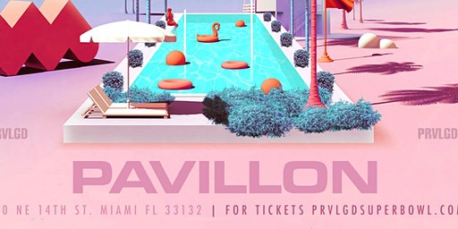 RSVP for Party Champs Big Game Weekend Finale in Miami this Sunday @Pavillon