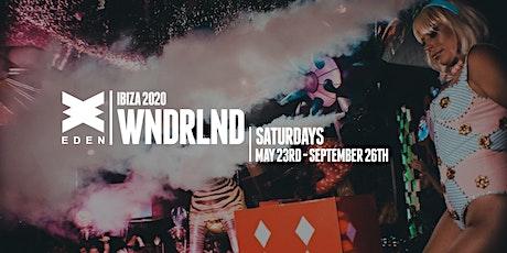 WNDRLND @ Eden Ibiza entradas