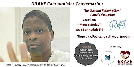 BRAVE Communities Conversation - Justice and Redemption