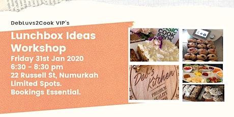 Lunchbox Ideas Workshop tickets