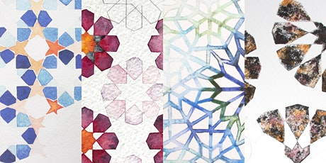 Geometric Watercolour Workshop- Intermediate with Halimah Denney tickets